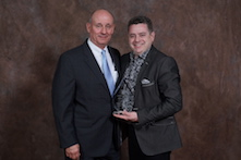 Architectural Products Group Distinguished Service Award – Robert Jutras, pictured at right