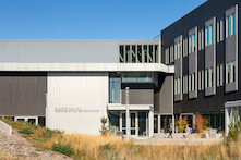 Oregon State University's Marine Science Building, photo by Josh Partee Architectural Photographer - courtesy of RHEINZINK
