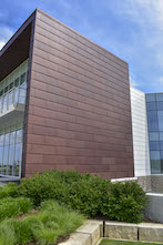 Linetec adds Bordeaux Anodize, photo courtesy of Metal Design Systems