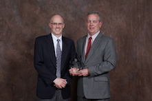 Residential Products Group Distinguished Service Award – Mark Fortun, pictured at right
