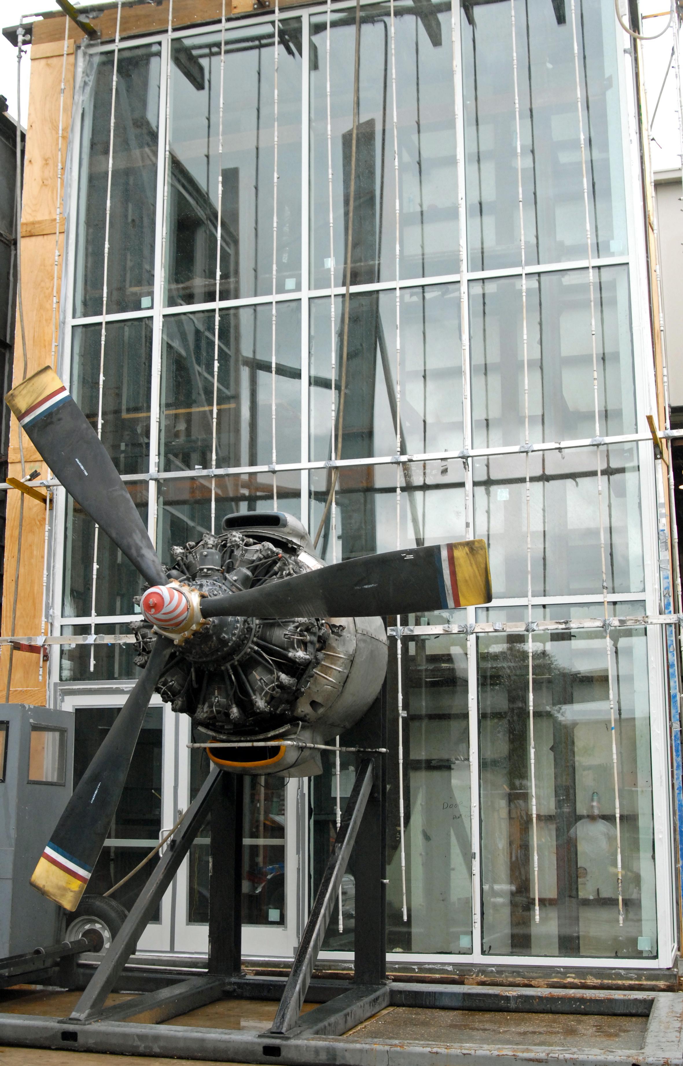 Tubelite ForceFront Storm wind test