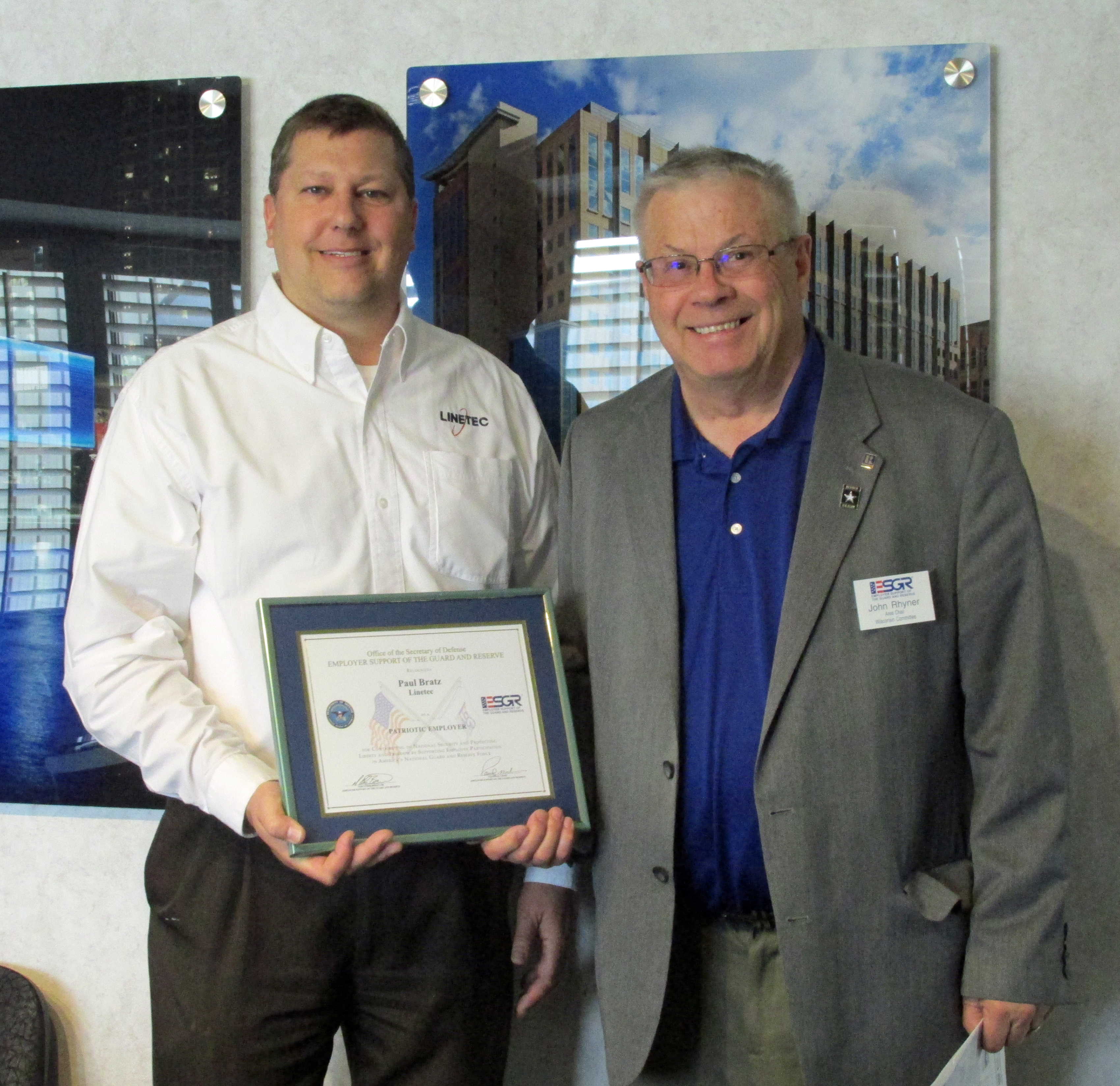 Heather West Pr Client News Kolbe Highlights Both: Heather West Public Relations :: Linetec Honored With