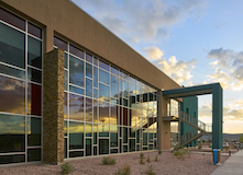 Navajo Tribal Utility Authority Headquarters photo by Patrick Coulie Architectural Photography, courtesy of Tubelite Inc.
