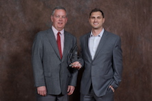 Marketing Distinguished Service Award – Josh Wignall, pictured at right