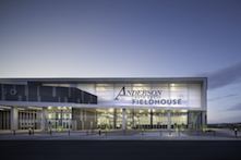 Anderson Auto Group Fieldhouse; photo by Matt Johnson, Winquist Photography; courtesy of EXTECH