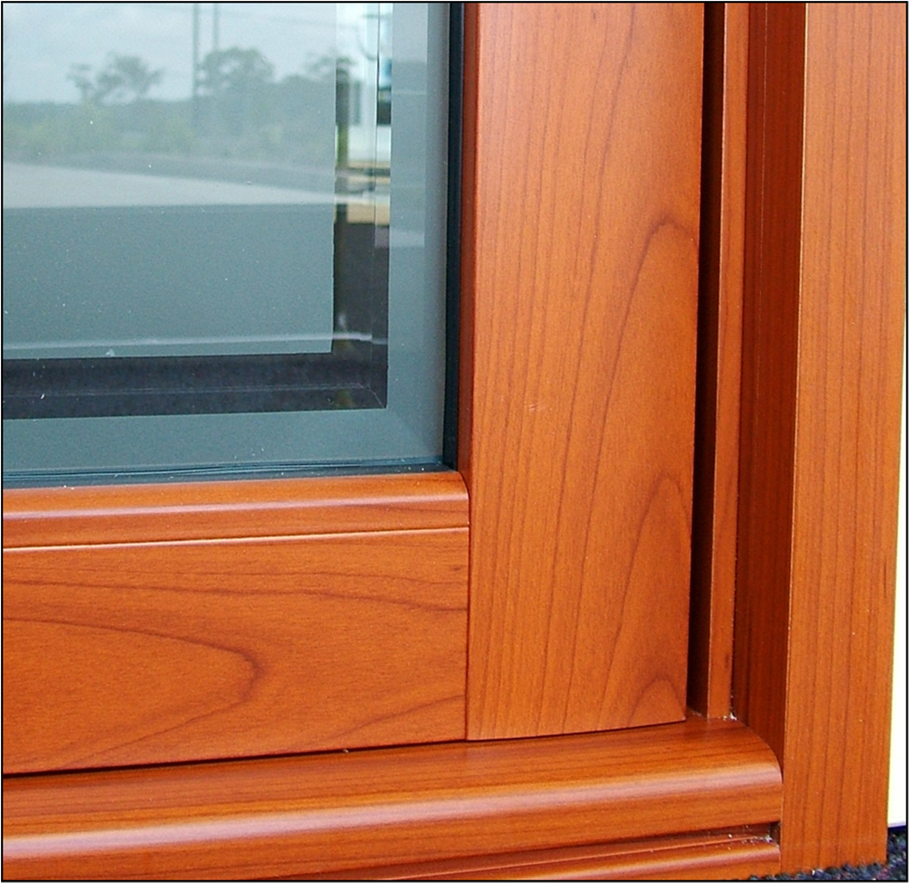 Wood Windows Doors: Heather West Public Relations :: Linetec's Wood Grain Finishes