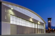 DuPage Airport's new hangar doors